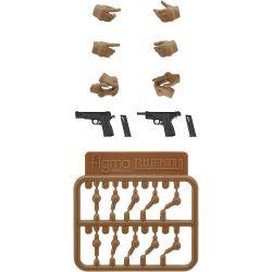 figma LAOP06 Tactical Gloves 2 - Handgun Set (Tan)
