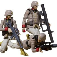 G.M.G. Mobile Suit Gundam Earth United Army Soldier (with gift)