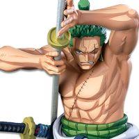 One Piece BANPRESTO WORLD FIGURE COLOSSEUM 3 SUPER MASTER STARS PIECE: Roronoa Zoro [Two Dimensions]