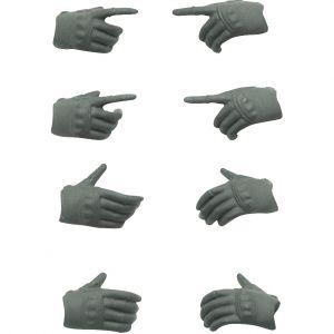 LittleArmory-OP5: figma Tactical Gloves (Mas Grey)