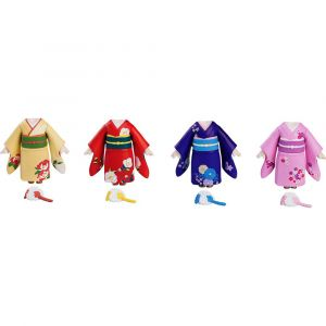 Nendoroid More: Dress Up Coming of Age Ceremony Furisode (set of 4)