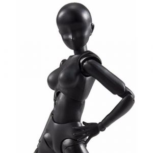 S.H.Figuarts Body-Chan (Woman) (Solid black Color Ver.)