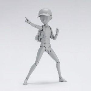 S.H.Figuarts Body Kun -Ken Sugimori- Edition DX SET (Gray Color Ver.)