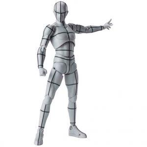 S.H.Figuarts Body Kun -Wireframe- (Gray Color Ver.)