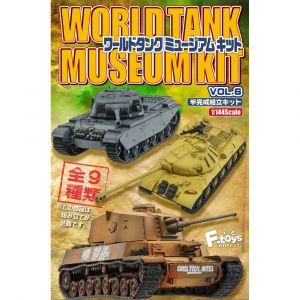 World Tank Museum Kit 6 (box of 10)