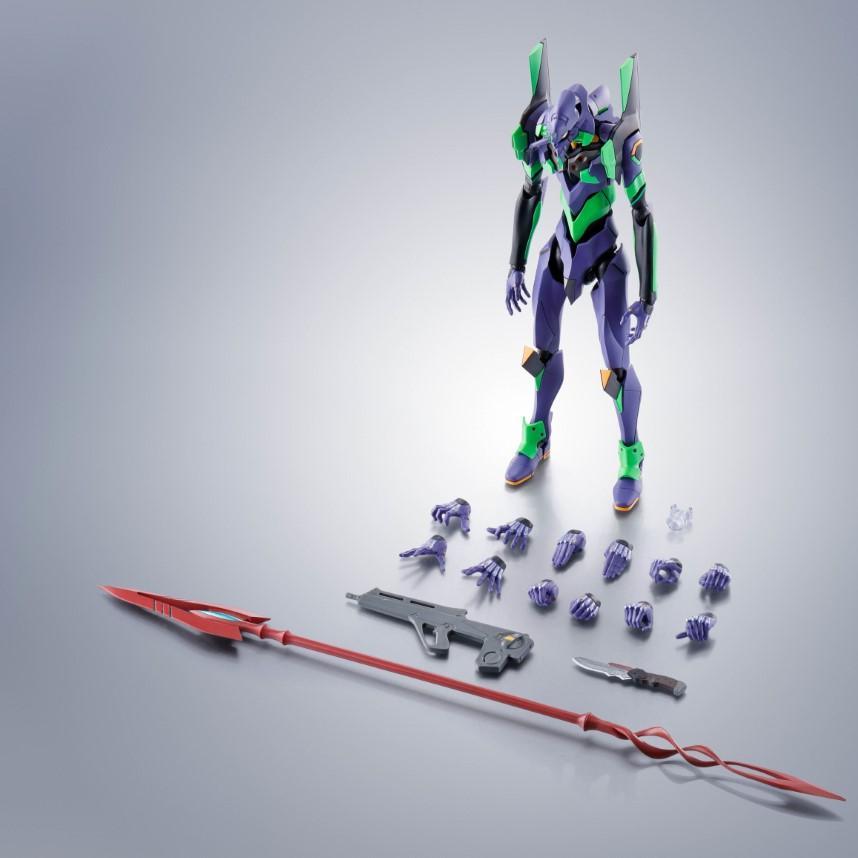 Robot Spirits Evangelion Unit-01 Test Type
