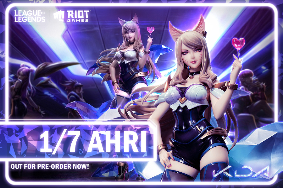 Preorder Ahri from League of Legends