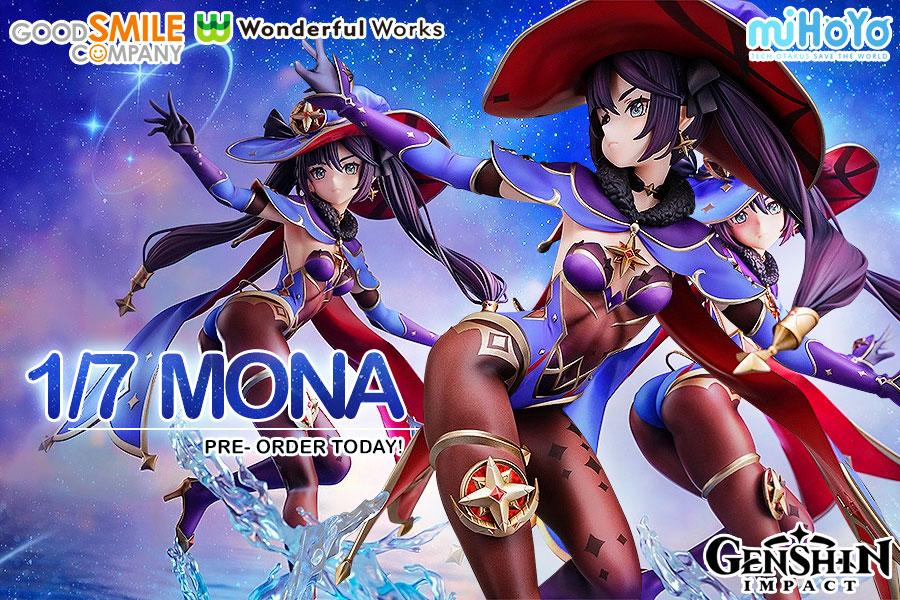 Preorder Mona from Genshin Impact