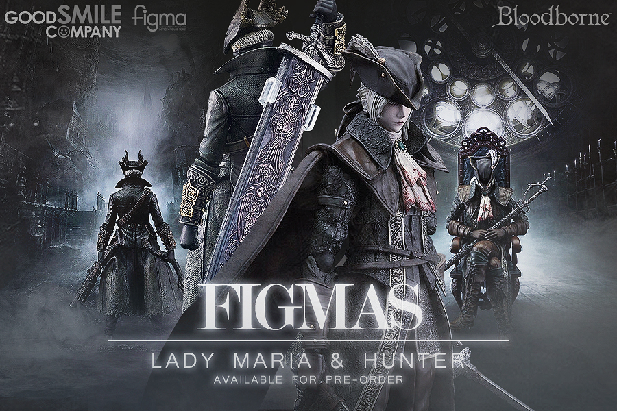 Preorder figma Lady Maria and Hunter