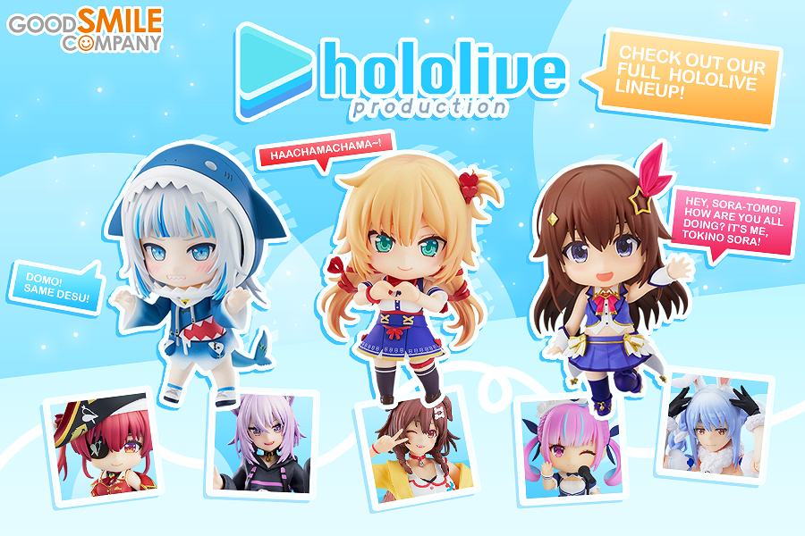 Shop all our Hololive figures