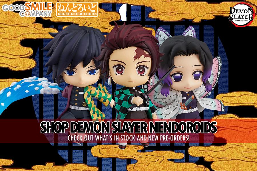 Shop all our Kimetsu No Yaiba Demon Slayer Nendoroids