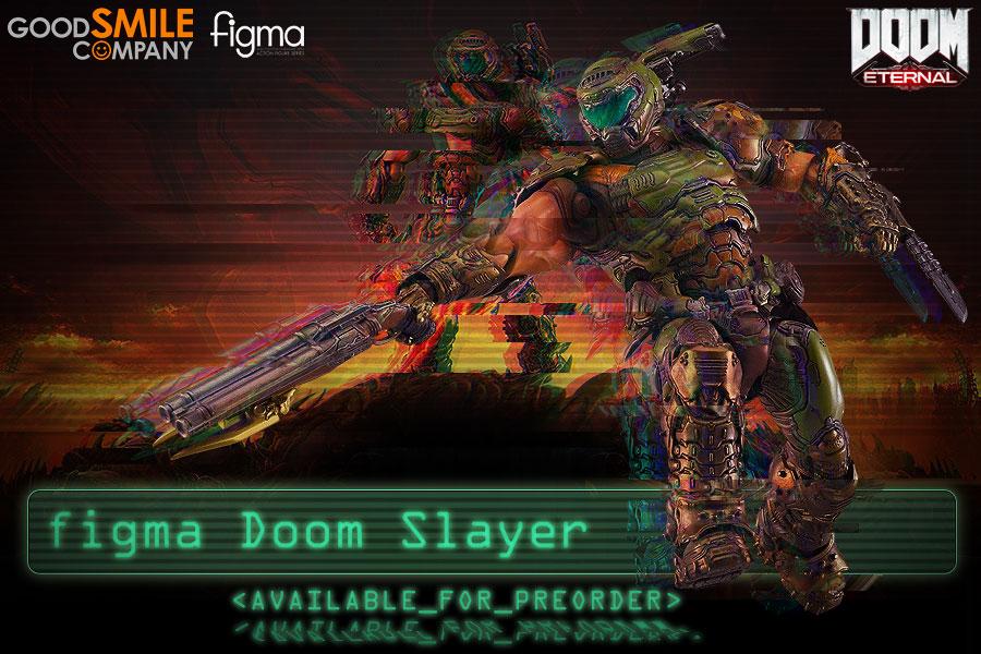 Preorder figma Doom Slayer