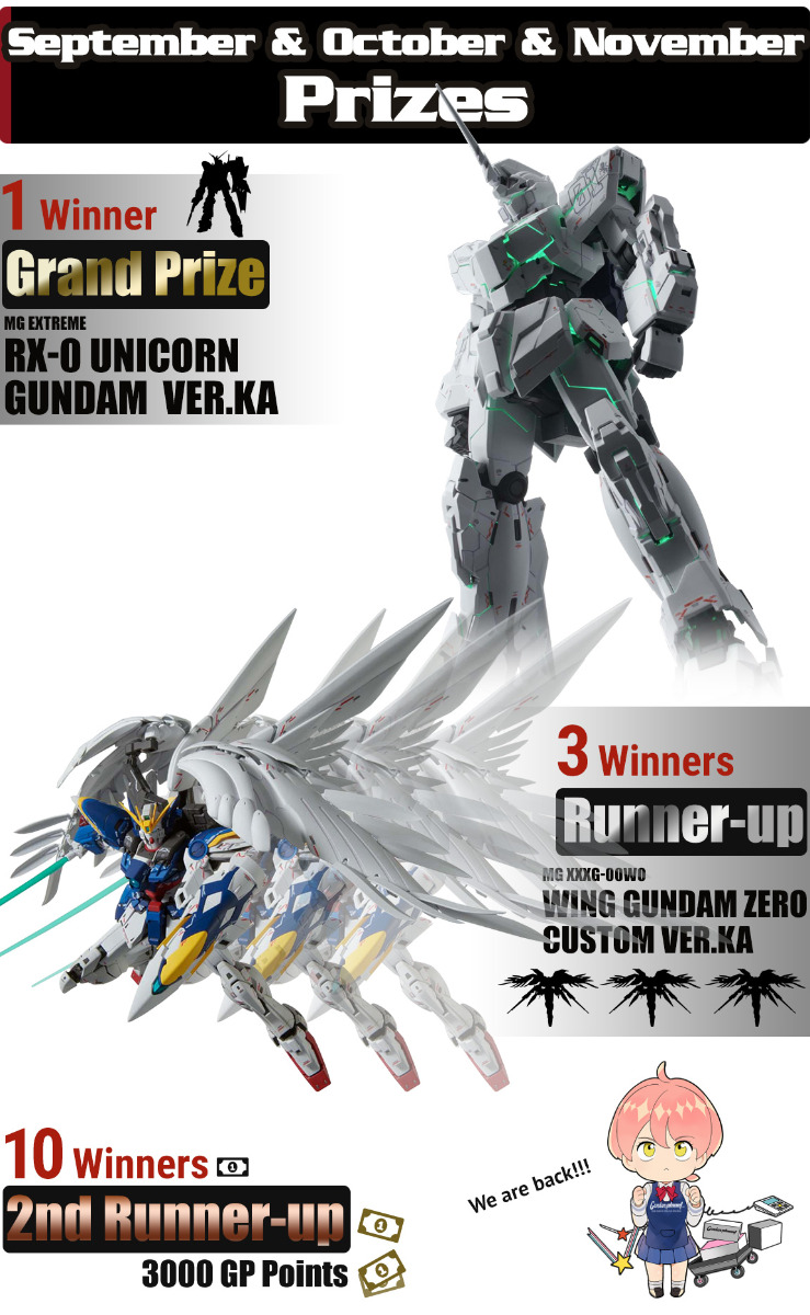GP Lottery Prizes