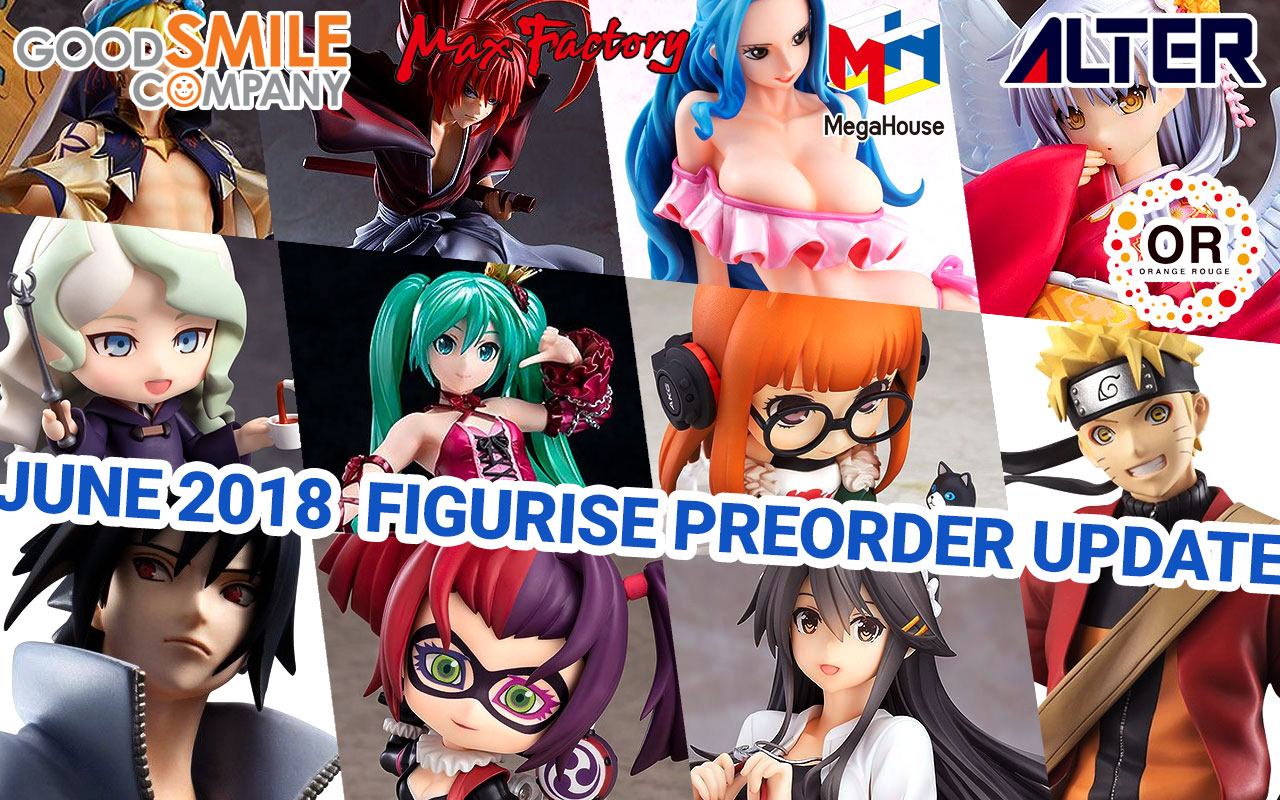 New Figurise Preorders 7/13/2018