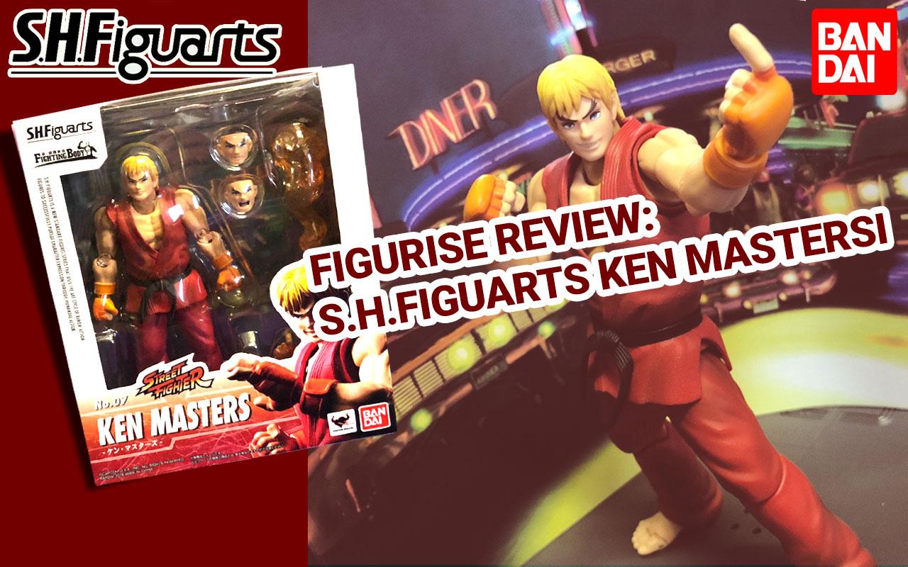 ~*Figurise Review*~ S.H.Figuarts Ken Mastersi