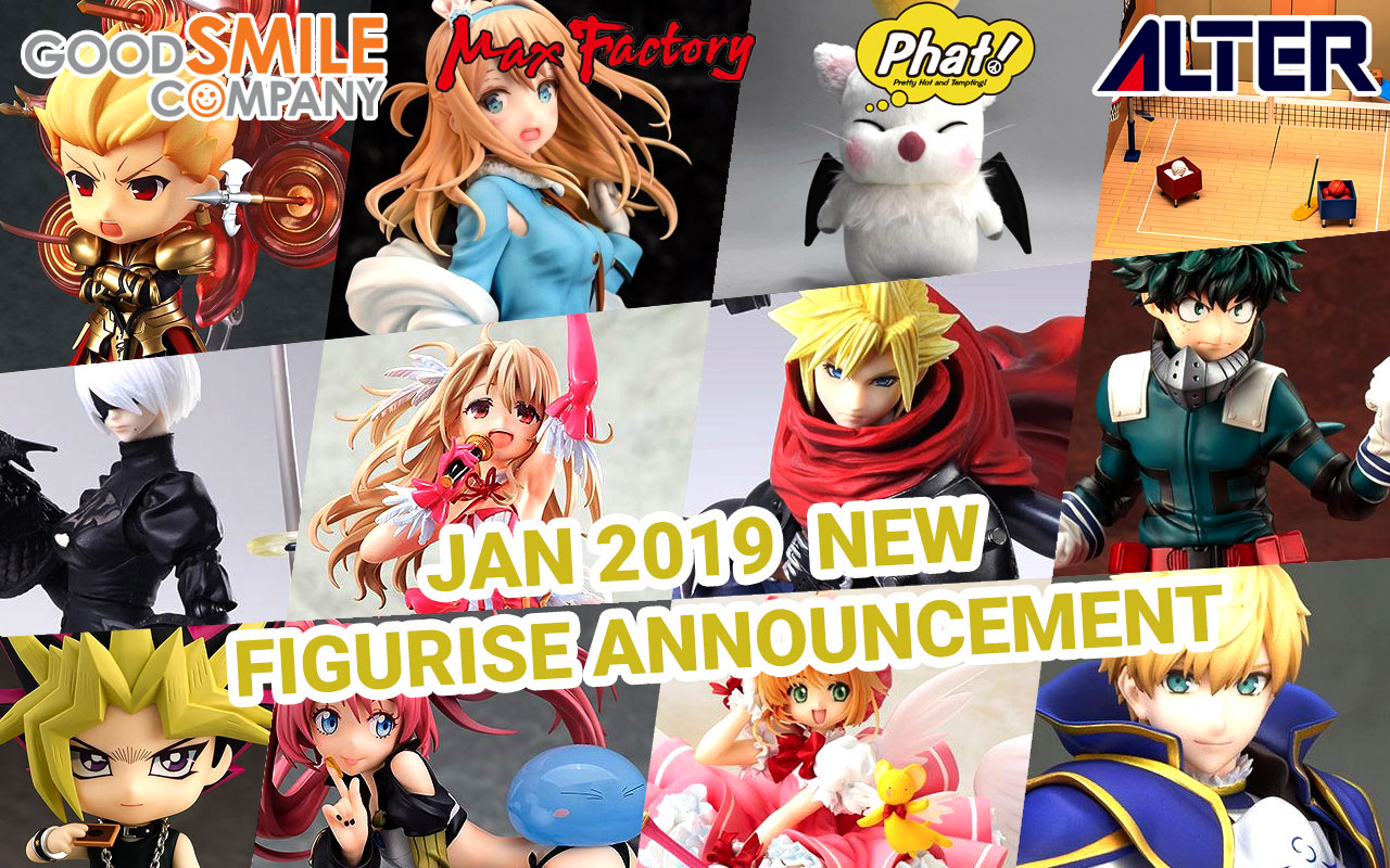 January 2019 New Figurise Announcement!!
