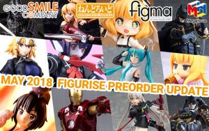 Figurise Preorder Update 5/16/2018 (GSC, Megahouse & More!)