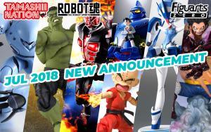 Bandai Tamashii Nations July 2018 Preorder Update!