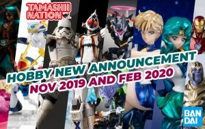 April 2019 New Bandai Tamashii Nations Announcement