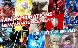 February 2021 New Tamashii Nations Announcement