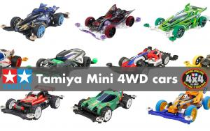 Tamiya Mini 4WD cars now available at Gundam Planet!