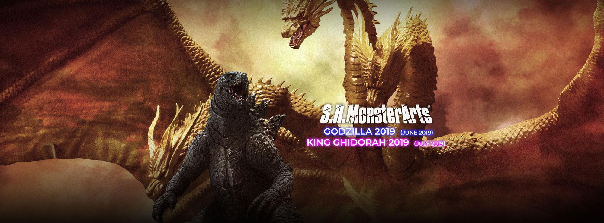 S.H.Monsterarts Godzilla 2019